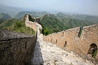 The Great Wall of China Jin Shan Ling to Simiatai, China.