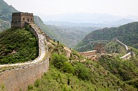 The Great Wall of China Jin Shan Ling to Simiatai, China.