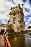Tower of Belem, Santa Maria de Belem, Lisbon, Portugal