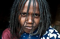 Erythrean refugee belonging to the Afar tribe at Berahile ( Afar state, Ethiopia).