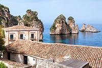 Scopello, Castellammare del Golfo, Trapani, Sicily, Italy.