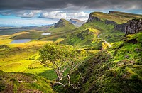 Quiraing, Isle of Skye, Scotland.