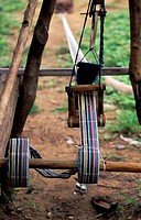 Weaving of Fugu in Daboya, a village in the West Gonja district, a district in the Northern Region of north Ghana.