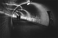 Zizkov Tunnel, Prague, Czech Republic