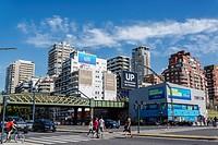 Avenida Libertador, Palermo, Buenos Aires, Argentina.