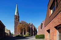 Germany, Nettetal, Maas-Schwalm-Nette Nature Park, Schwalm-Nette Nature Park, Lower Rhine, Rhineland, North Rhine-Westphalia, NRW, Nettetal-Schaag, pa...