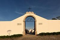 Ourem cemetery gate, Portugal.