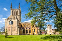 Pershore Abbey, Worcestershire, England, United Kingdom, Europe.