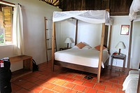 Mango Bay Resort tastefully bedroom, Phu Quoc Island, Vietnam, Asia.