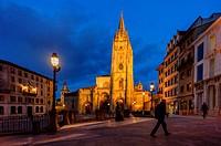 Oviedo cathedral, Asturias (Spain)