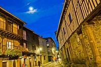 Traditional Architecture, Medieval Town, Historic Artistic Grouping, Spanish Property of Cultural Interest, La Alberca, Salamanca, Castilla y León, Sp...
