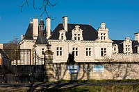 Castle For Sale. Chinon District, Indre et Loire department, Central Region, Loire Valley, France, Europe.