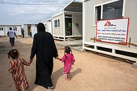 MSF mental health activities in Khanaqin refugee camp in Northern Iraq.