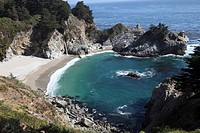 California, Highway 1 South, McWay Falls.