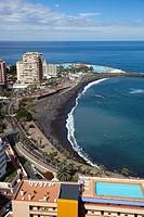 Puerto de la Cruz town, Tenerife island, Canary archipelago, Spain, Europe.