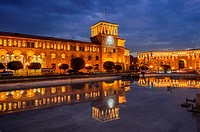 Republic Square in Yerevan, Armenia