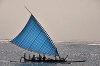 traditional boat, Bali, Indonesia.