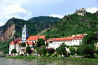 Durnstein view from the Danube.