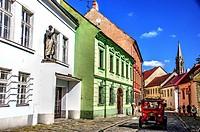 Bratislava street detail, Slovakia.