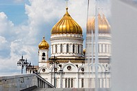 Cathedral of Christ the Saviour, Moscow, Russia.