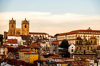 Skyline of Porto, Portugal, Europe.