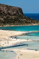Balos beach, Crete, Greece.