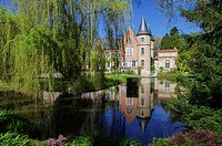 Villeneuve sur Allier, Arboretum, Allier, Auvergne, France.
