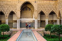 The Courtyard of the Maidens (Alcázar of Seville)