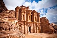 The Monastery (Al-Deir), Petra, Jordan, Western Asia.