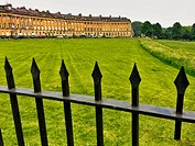 The Royal Crescent ,Bath. Somerset. England. United Kingdom.