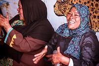 Women of Nubian Village, Aswan, Egypt