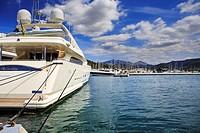 Port d´Andratx on Mallorca Island, the Balearic Islands, Spain.