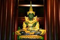 Emerald Buddha at Wat Phra Kaew in Chiang Rai, Thailand, Asia.