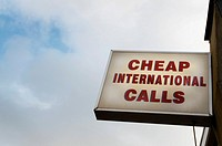 Cheap international calls.