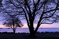 Sunrise over the Piscataqua, Great Island Common, New Castle, New Hampshire.