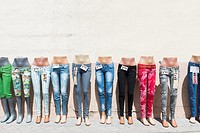 Sale jeans.
