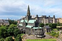 Glasgow Cathedral, Glasgow, Scotland, UK.