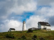 Cape Spear Newfoundland Lighthouse.
