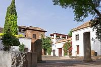Europe, Spain. Andalusia, Cordoba, street.