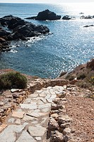 Path to the beach, Murcia, Spain