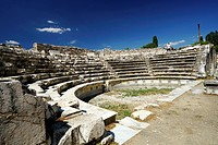 Aphrodisias Odeion. Ancient Greece. Asia Minor. Turkey.