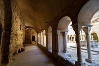 Sant Pere de Rodes monastery. Cloister. Romanesque. El Port de la Selva.
