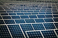 Solar energy centre near Guadarranque, San Roque, Cadiz Province, Spain.