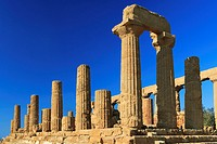 Temple of Juno, Valley of the Temples, Sicily, Italy.