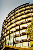 Winterthur office building. Barcelona, Catalonia, Spain.