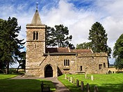 All Saints Church at Kirkby Hill near Boroughbridge North Yorkshire England.