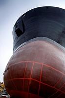 Halong Ship Yard, North Vietnam, Asia.