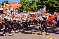 The Pride of the Southland Marching Band, official name of the University of Tennessee band at Knoxville TN.