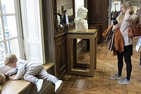 France, Ile-de-France, Paris, The Rodin Museum renovated and opened in nov 2015.