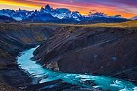 Monte Fitz Roy (also known as Cerro Chaltén, Cerro Fitz Roy, or simply Mount Fitz Roy) is a mountain located near El Chaltén village, in the Southern ...